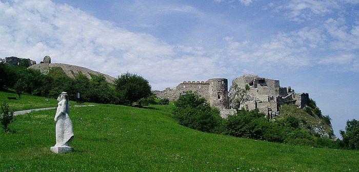 Bratislava Ausflug Burg Devin Theben