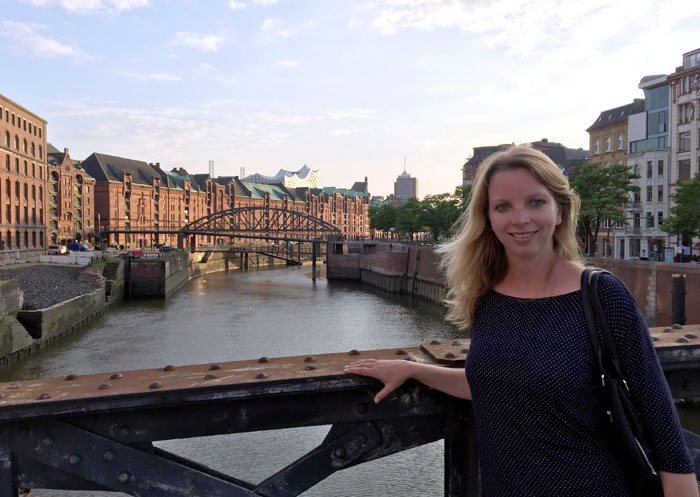 Hamburg Unterwegs in der Speicherstadt