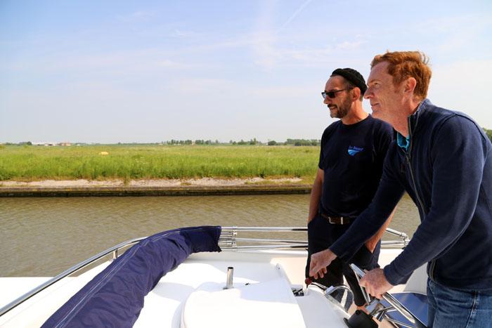 Hausboot Leboat Flandern Belgien Briefing