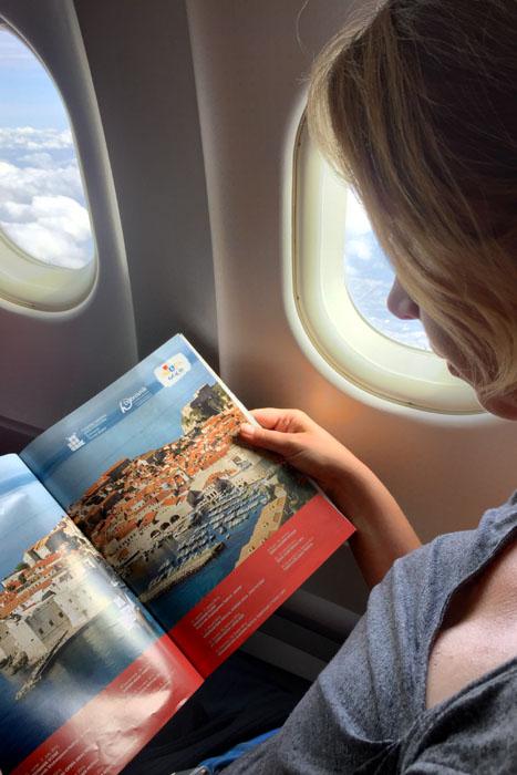 Croatia Airlines Flug nach Dubrovnik