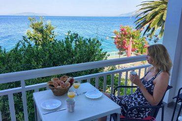 Kroatien FeWo-direkt Ferienwohnung Balkon