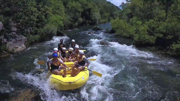 Kroatien Rafting Cetina