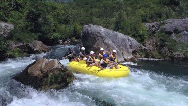 Kroatien Rafting auf der Cetina