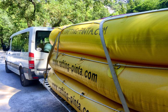 Rafting Pinta