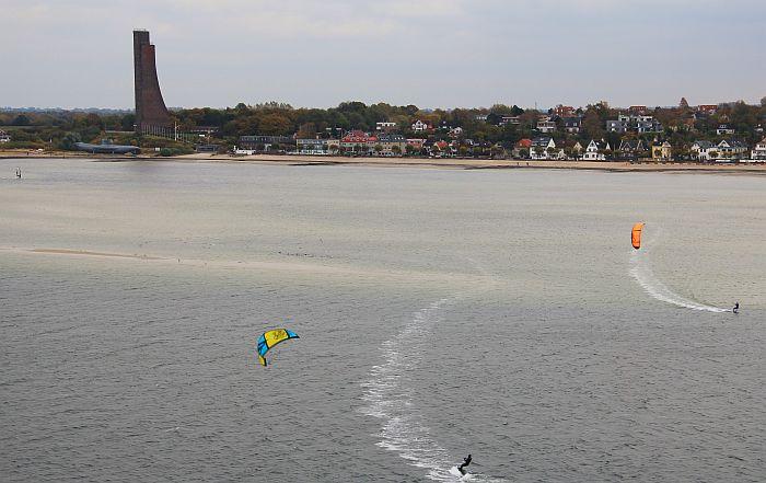 Color Line Kiel Oslo Laboe Kitesurfer