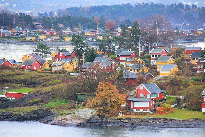 Color Line Kreuzfahrt Oslo Oslofjord