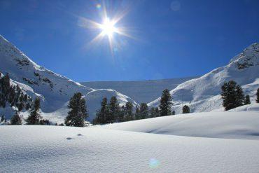 Skigebiet Kühtai Skitour