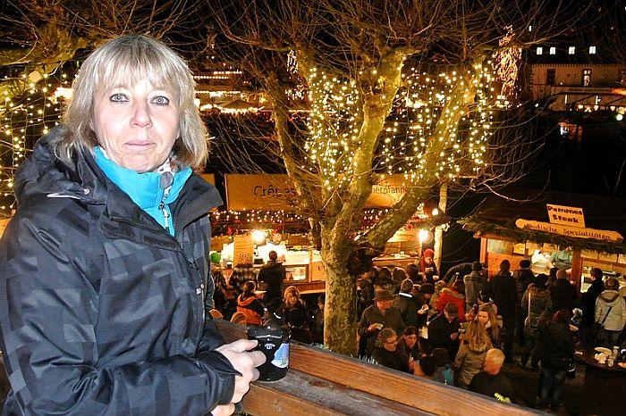 Sonja von Jo-Igele auf dem Weihnachtsmarkt Konstanz