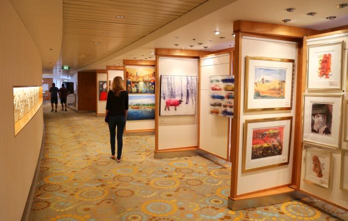 Galerie an Bord der Mein Schiff 1