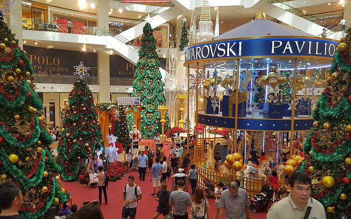 Kuala Lumpur Shopping Bukit Bintang TUI Mein Schiff Kreuzfahrt