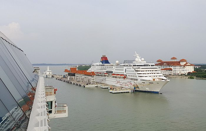 Port Klang TUI Mein Schiff Kreuzfahrt