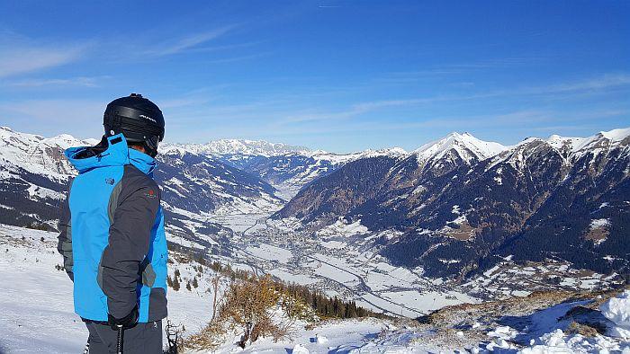 Gasteinertal Bad Hofgastein Skifahren Panoramablick