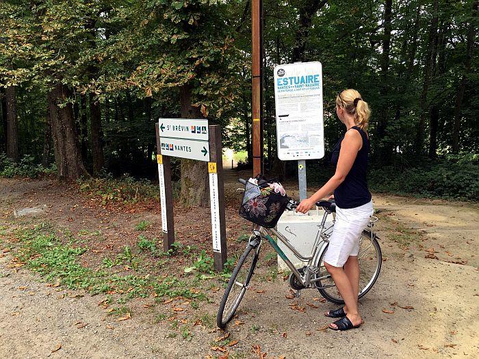 Mit dem Rad auf dem Kunstpfad Estuaire von Nantes an die Atlantikküste