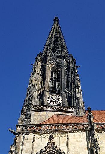 Münster Kurzurlaub Lambertikirche Käfige Täufer 3