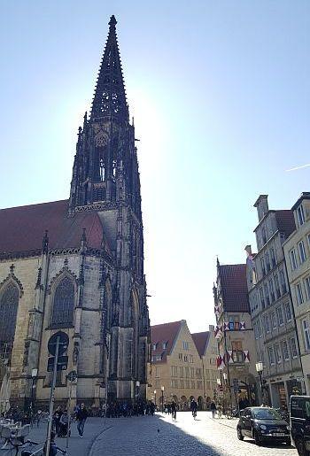 Münster Kurzurlaub Lambertikirche Prinzipalmarkt 2