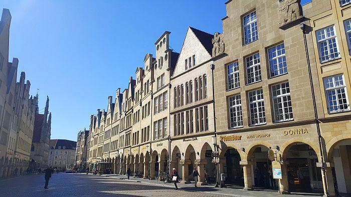 Münster Kurzurlaub Prinzipalmarkt Shopping Historische Altstadt