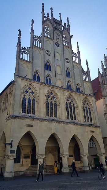 Münster Kurzurlaub Rathaus Front Westfälischer Friede