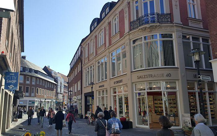 Münster Kurzurlaub Shopping
