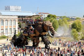 Nantes Maschines d´Iles Elefant Kurzurlaub