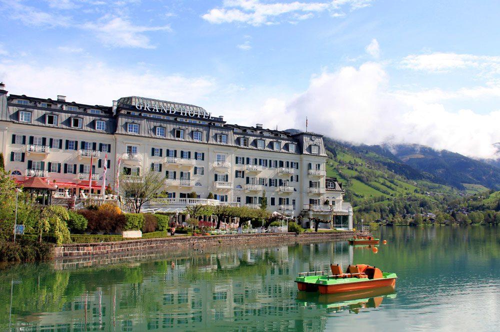 Grand Hotel Zell am See Aussenansicht