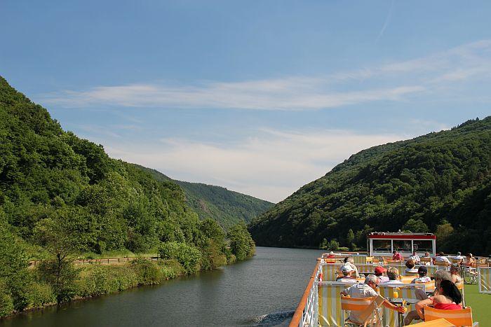 Kurzurlaub Kreuzfahrt NIcko Cruises MS Casanova Saarschleife