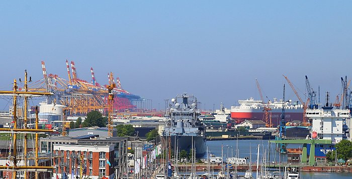 Bremerhaven Containerbrücken