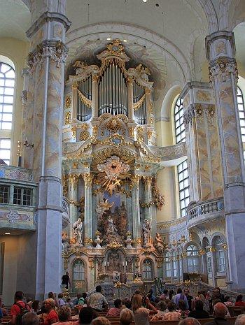 Dresden Frauenkirche innen
