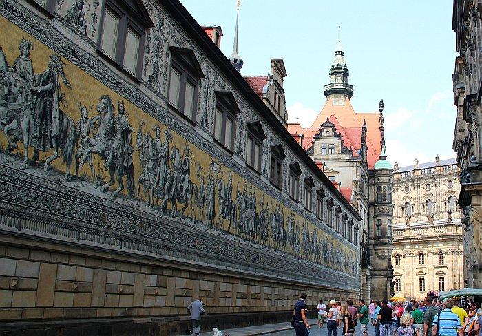 Dresden Wandbild