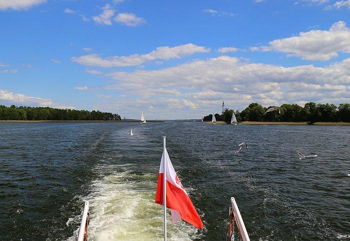 Masuren Masurische Seenplatte Nikolaiken Mikolajki Schiffsfahrt 2