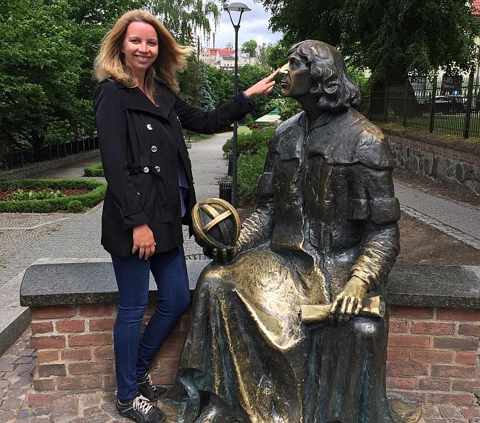 Olsztyn Kopernikus Polen Ermland Masuren See Ukielsee