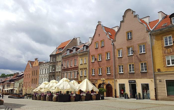 Olsztyn Markt Polen Ermland Masuren See Ukielsee