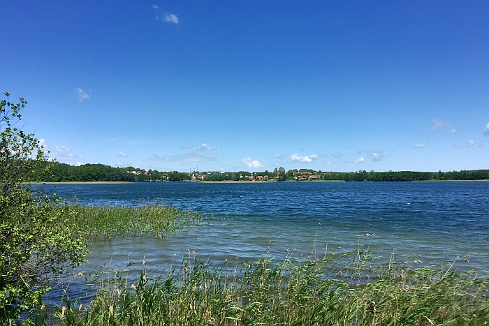 Olsztyn Polen Ermland Masuren See Ukielsee