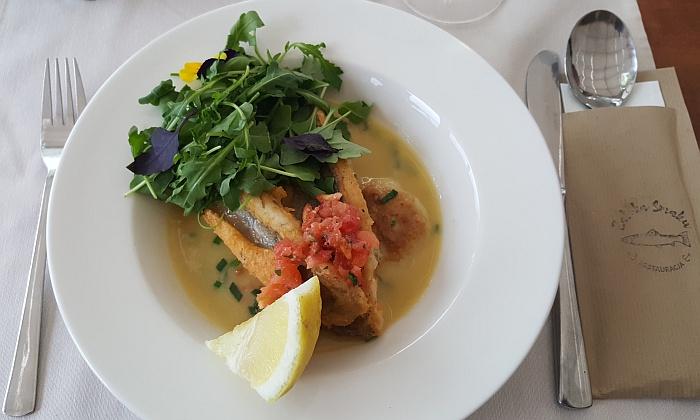 Olsztyn U Jacka Hotel Restaurant Polen Ermland Masuren See Fisch