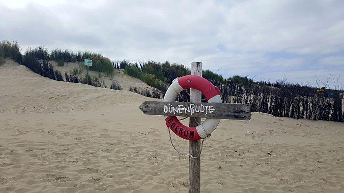 Borkum Insel Dünenbudje