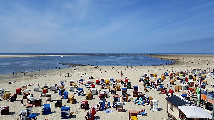Borkum Promenade Strand Nordbad