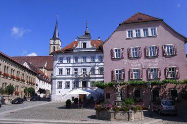 Iphofen Wein Franken Marktplatz