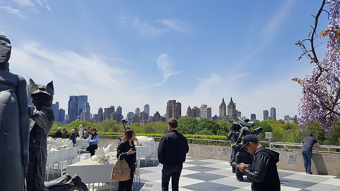 New York Metropolitan Museum of Art MET Dachterrasse Central Park