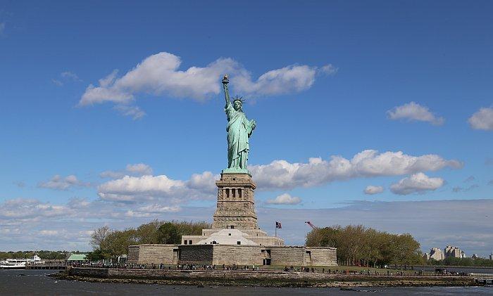 New York Ellis Island Liberty Island Freiheitsstatue 2