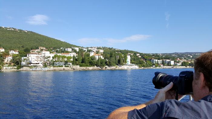Tornado Blue - Kroatien - Ausblick