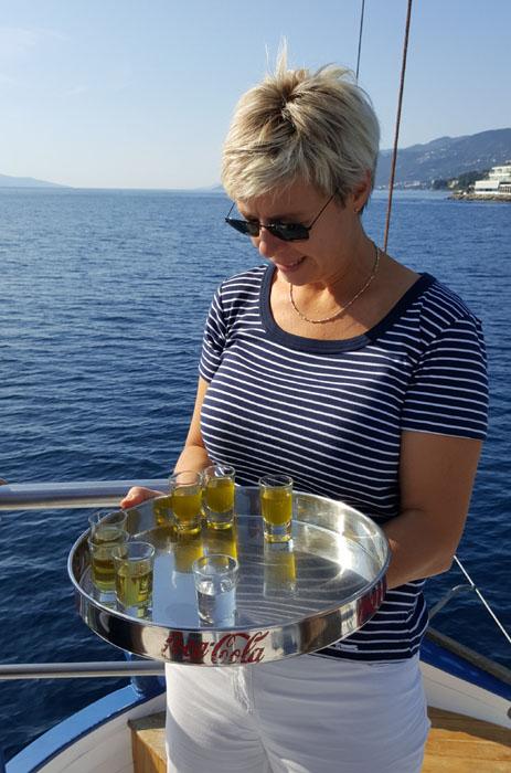 Tornado Blue - Kroatien - Einstimmung aufs Kochevent