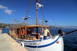 Tornado Blue - Kroatien - Hafen von Opatija Kochkurs