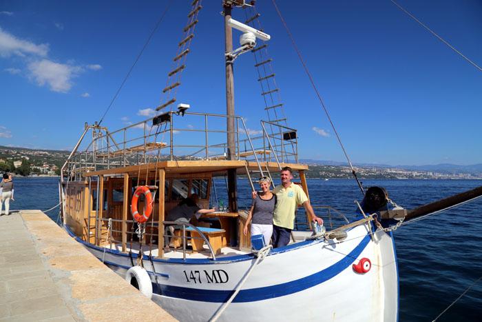 Tornado Blue - Kroatien - Hafen von Opatija