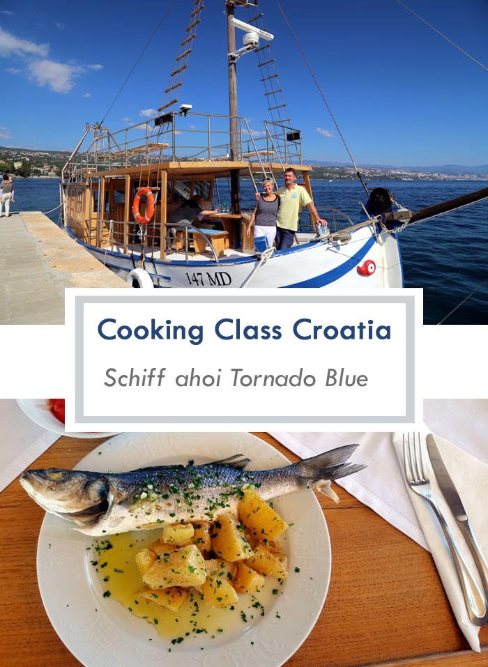 Mediteraner kroatischer Kochkurs auf der Tornado Blue