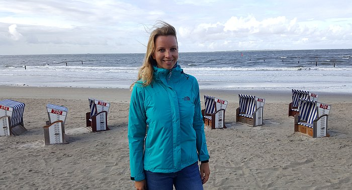 Norderney Thalasso Brigitte Strand Meer