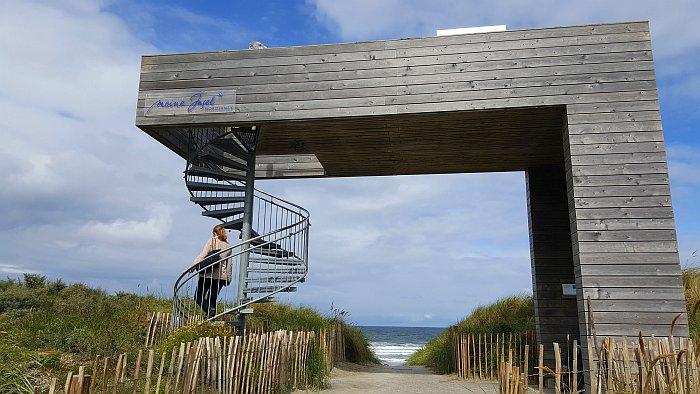 Norderney Thalasso Nordstrand Thalasso Plattform Wattenmeer Strand Meer
