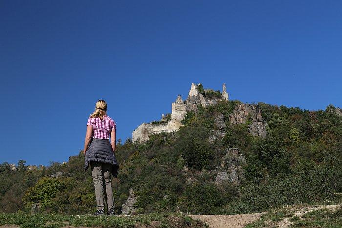 Niederösterreich Wachau Welterbesteig Burg Dürnstein