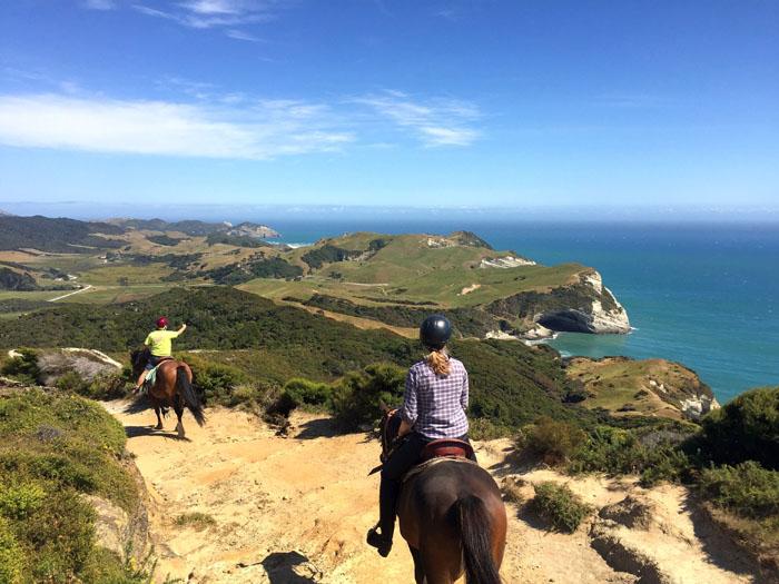 Neuseeland Golden Bay Farewell Spit Ausritt