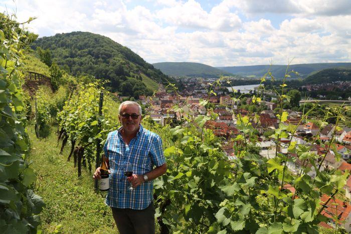 Churfranken Franken Wein Winzer Rotwein Wanderweg Friedrich Herkert