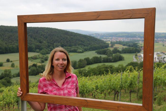 Churfranken Wein Wandern Fränkischer Rotwein Wanderweg