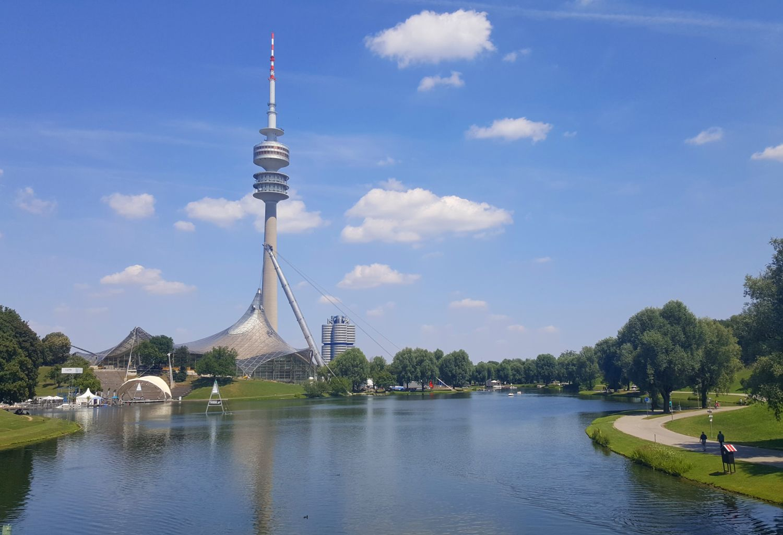 München Olympiapark Olympiaturm